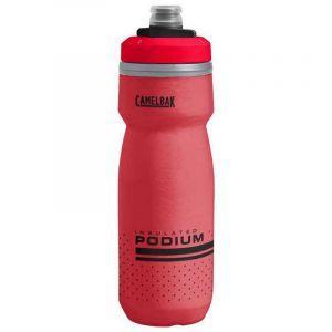 Camelbak Bidon Podium Chill (620 ml) - Fiery Red-White - 620ml/21oz