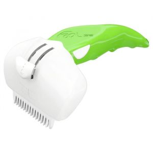 Foolee Brosse Easee - Taille S - Vert - Pour chat