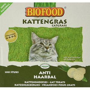 Biofood Friandise anti-boules de poils pour chat