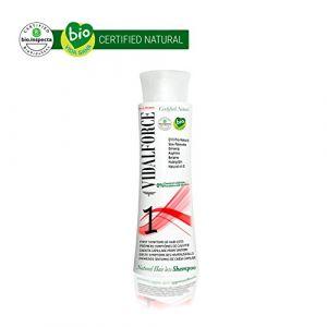 Vidalforce Shampooing bio anti-chute Q10 pro-natural