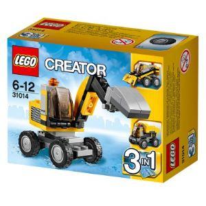 Lego 31014 - Creator 3 en 1 : La pelleteuse