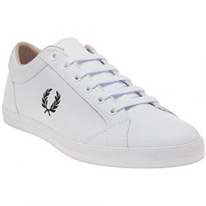 Fred Perry Baseline Leather White B3058100, Basket - 42 EU