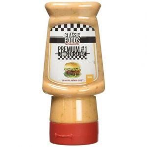 Classic Foods of America Premium #1 Sauce burger
