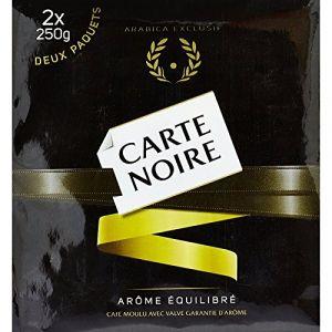 Carte Noire Café Moulu Pur Arabica 2 Paquets de 250 g