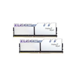 G.Skill Trident Z Royal 16 Go (2x 8 Go) DDR4 3600 MHz CL17 - Argent