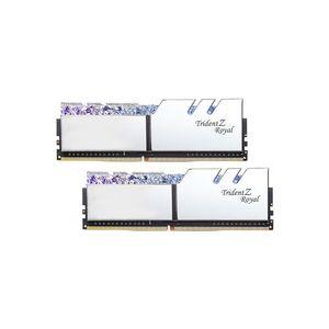 G.Skill Trident Z Royal 16 Go (2x 8 Go) DDR4 3600 MHz CL17 - Argent