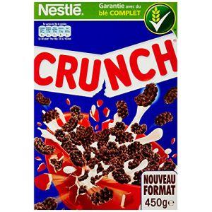 Nestlé Crunch - Céréales au chocolat - La boite de 450g