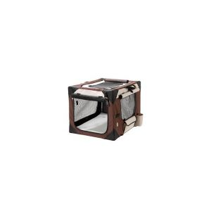 Karlie FLAMINGO Smart Top de Luxe Bei/Ma Sac de Transport pour Chien 106 x 71 x 69 cm