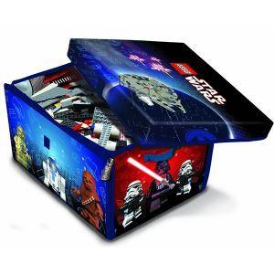 Lego Box à jouer et tapis de jeu : ZipBin Star Wars GM
