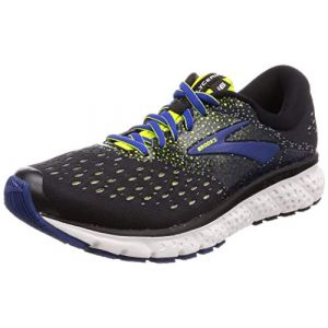 Brooks Chaussures running Glycerin 16 Standard - Black / Lime / Blue - Taille EU 45