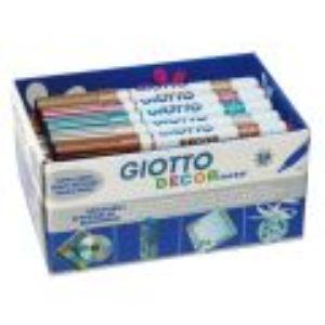 Giotto Schoolpack de 24 feutres de coloriage (déco métal)