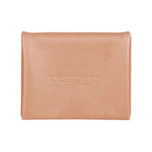 Kesslord Kart K'rock - Porte-cartes en Cuir de vachette torsadé - rose