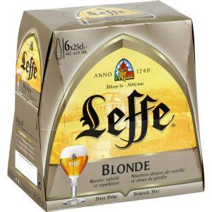 Leffe Bière blonde 6x25