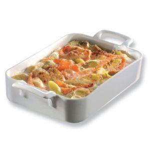 Revol Plat rectangulaire blanc 34x25cm - Belle Cuisine