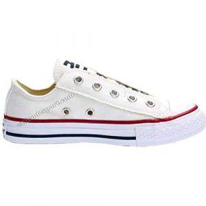 Converse 356855C CT Slip On Canvas Sneakers Junior Unisexe White 27