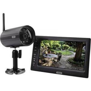 Abus TVAC14000A - Set de surveillance sans fil 4 canaux avec 1 caméra