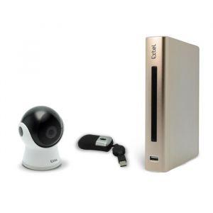 Extel EWATCH 900 084031 - Enregistreur vidéo IP full HD 4 canaux pour caméra eWatch