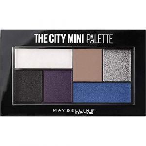 Maybelline 440 Concrete Runway - The City Mini Palette d'Ombre à Paupières