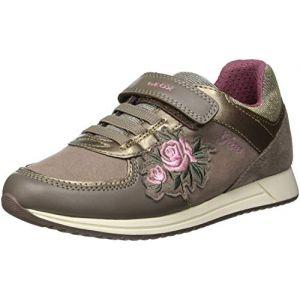 Geox J Jensea B, Sneakers Basses Fille (DK Beige C5005), 31 EU