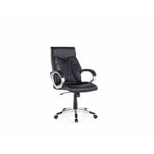 Beliani Chaise de bureau - Fauteuil simili-cuir noir - Triumph