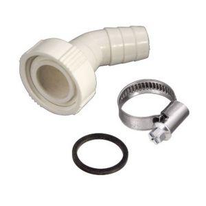 Xavax Siphon pour le raccordement de Machine à Laver ou lave-vaisselle Raccord de tuyaux le siphon