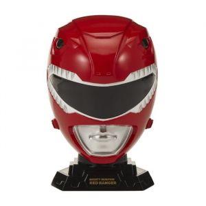 Bandai POWER RANGERS Casque Collector Echelle 1/4 Ranger Rouge
