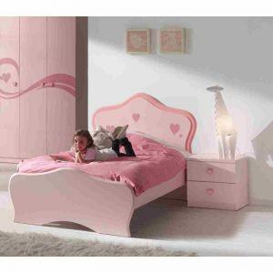 Vipack Furniture Lizzy - Lit pour fille 90 x 200 cm