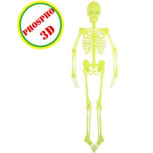 Smiffy's Squelette 3D articulé phosphorescent