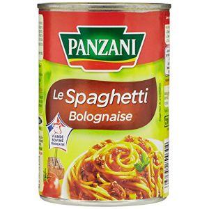 Panzani Le spaghetti bolognaise - La boîte de 400g