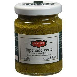 Eric Bur Tapenade Verte aux Amandes 90 g - Lot de 2