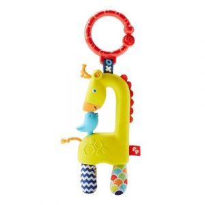 Fisher-Price Hochet animaux rigolos Tourniquet girafe