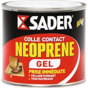 Sader Colle néoprène contact gel boîte 500 ml