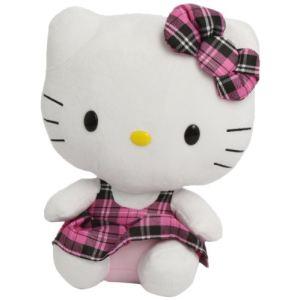 Ty Beanie Babies : Hello Kitty Tartan 33 cm
