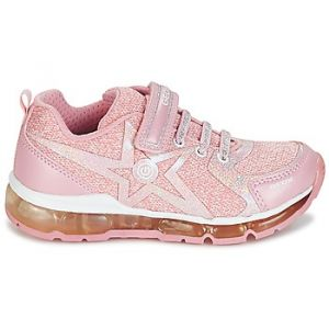 Geox J Android B, Sneakers Basses Fille, Rose (Rose/White), 34 EU