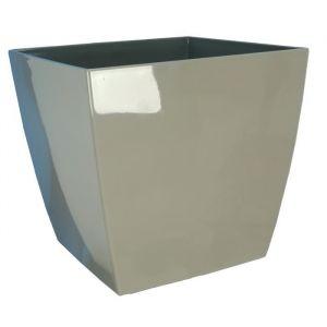 Riviera Pot Nuance en plastique 35x35cm - 28l - Taupe