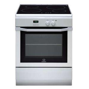 Indesit I64I6C6A - Cuisinière induction 4 zones avec four électrique