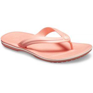 Crocs Crocband - Sandales - rose/blanc 37-38 Tongs