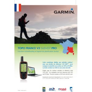 Garmin 010-10361-00 - Support à ventouse pour GPS eTrex