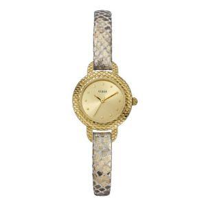 Guess W0228L - Montre pour femme avec bracelet en cuir