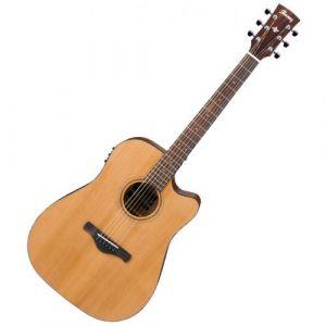 Ibanez AW65ECE-LG Guitare électro-acoustique naturel