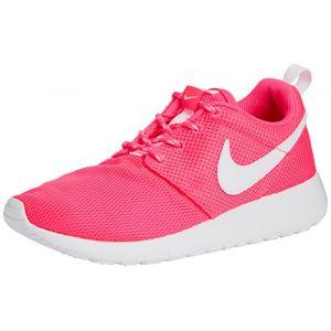 Nike Roshe One (GS), Chaussures Multisport Indoor Mixte Enfant, Rose (Hyper Pink/White), 38.5 EU