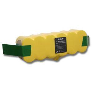 Vhbw VAC-500NMH-33 - Batterie NI-MH 3000mAh 14.4V pour les aspirateurs iRobot ROOMBA