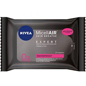 Nivea MicellAIR Expert - Lingettes démaquillantes micellaires