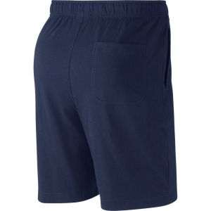 Nike M NSW Club Short JSY Shorts de Sport Homme Midnight Navy/(White) FR: S (Taille Fabricant: S)