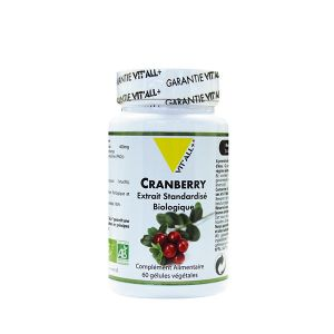 Vit'All + Cranberry 515mg - 60 gélules végétales