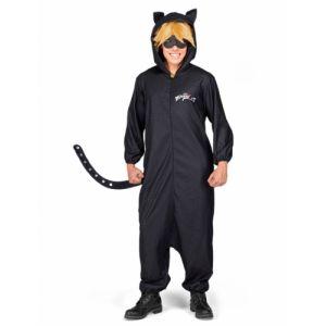 Déguisement combinaison chat noir Miraculous adulte Taille S
