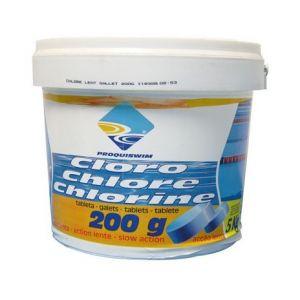 Proquiswim Galet chlore lent - 5 Kg - Entretien piscine