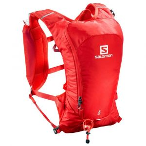 Salomon Sacs à dos Agile 6 Set - Fiery Red - Taille One Size