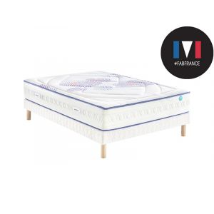 Merinos Ensemble Matelas CHEER FULLY 651 Ressorts Confort Morphologique 140x190
