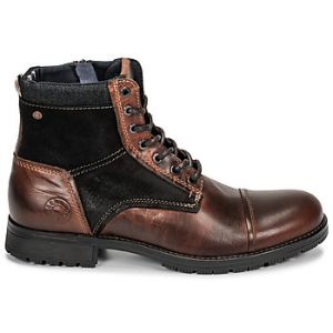 Jack & Jones Boots Jack Jones JFW MARSHALL COMBO Marron - Taille 44